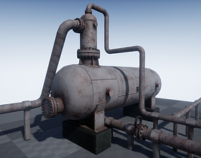 3D model game-ready Industrial Separator PBR