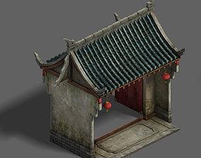 3D Medium City - Wall 02