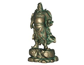 Guan Gong 3D printable model 3D model