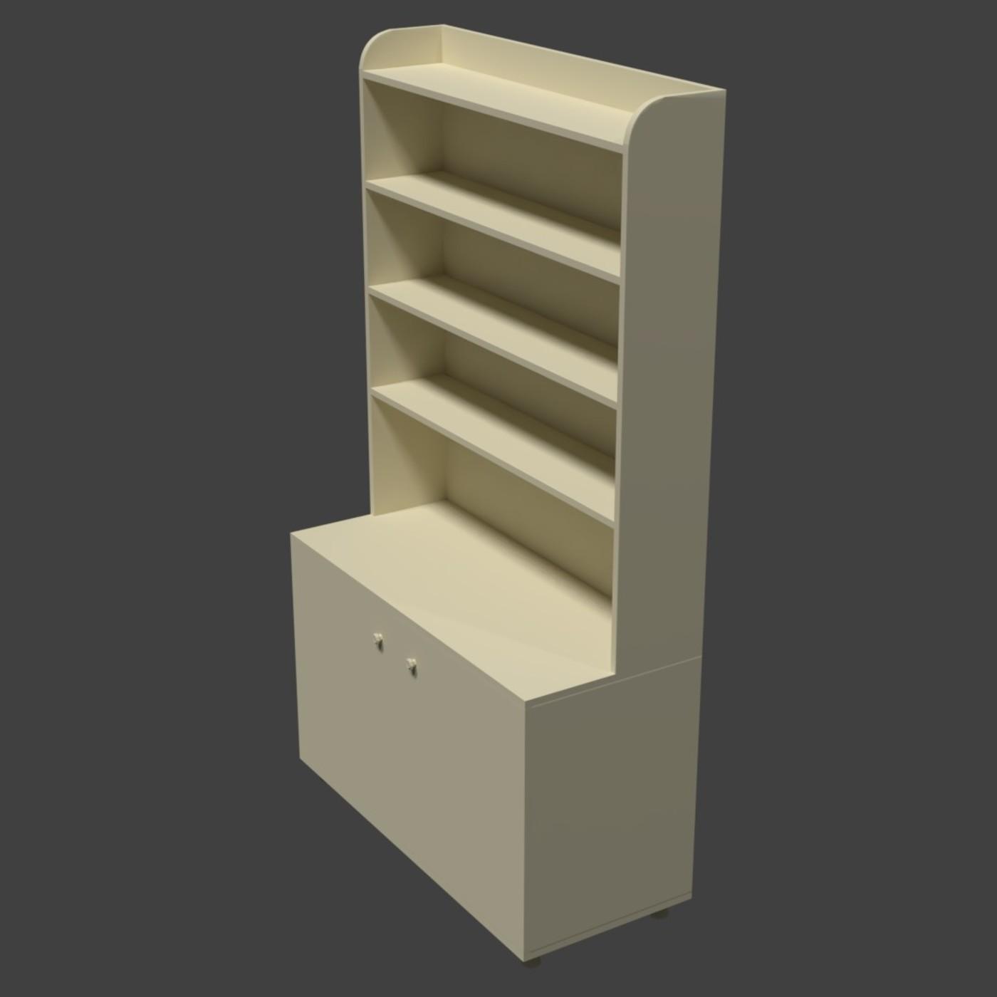 Old Wooden Cabinet (V2)