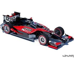 3D model Indycar 2012 Road course concept