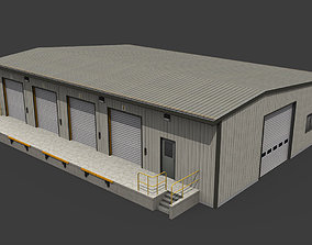 Warehouse 3D model realtime