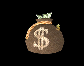 3D model Money Bag