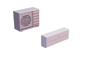 3D model Airconditioning unit