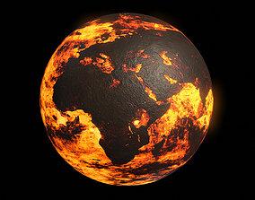 3D model Scorched Earth - 8k PBR