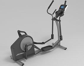 3D model Life Fitness X1 Elliptical Cross-Trainer