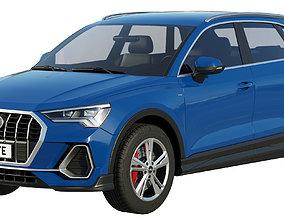 3D model Audi Q3 2020