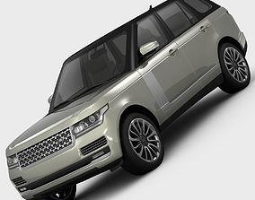 Range Rover Vogue L405 2013 3D model