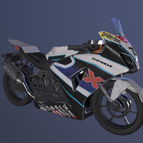 Suzuki low poly model