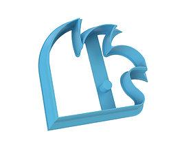 COOKIE CUTTER HEDGEHOG 3D printable model