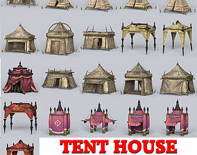 Tent House Collection 3D model
