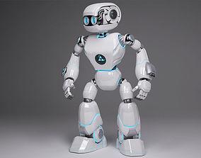 Cute space robot 3D