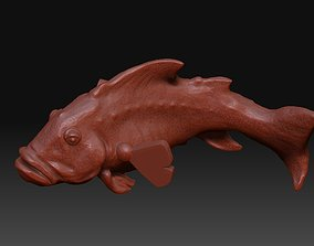 Fish stl model miniatures