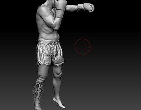 Paralympic athlete 3D model
