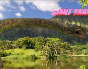 3D Giant Snake