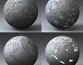 Syfy Displacement Shader G 001 d 3D model