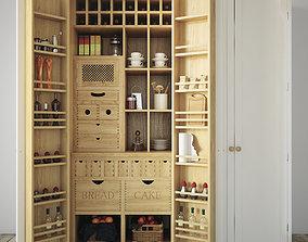 Kitchen organizer 3D