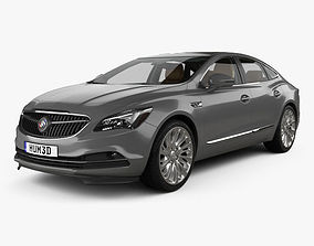 3D Buick LaCrosse Allure with HQ interior 2017