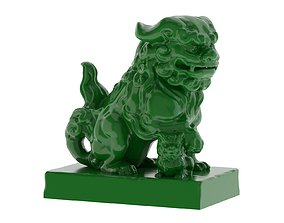 Komainu Statue 3D Print
