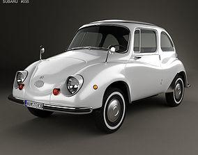 Subaru 360 1958 3D