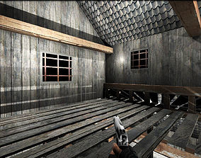 Old Barn 3D for Games realtime