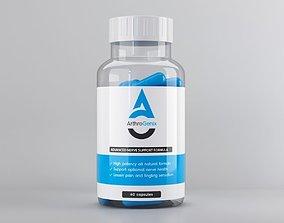 pillbottle 3D pill bottle