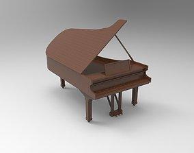 3D print model piano
