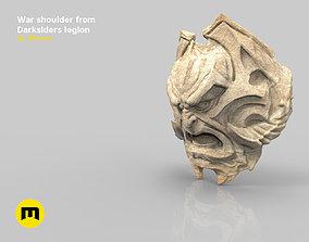 3D print model War shoulder darksiders legion