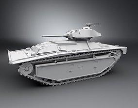 LVT A 1 Chaffee Scale model