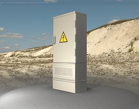 3D model Electrical Distribution Cabinet 86