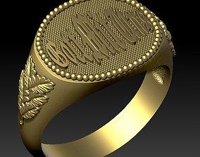 3D printable model male ring gott mit uns
