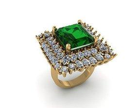 princess ring entourage 3D printable model