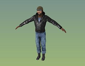 3D model Fallout Raider FanArt