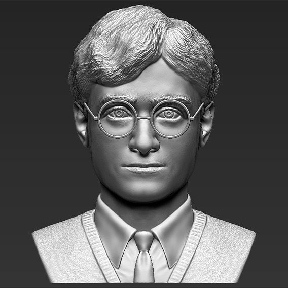 Harry Potter bust for 3D printing