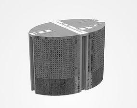 3D model Large Multi-storey Industrial Building