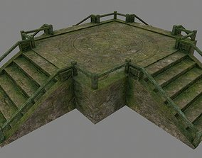 3D model realtime Medieval Door
