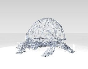 Ladybird Wireframe 3D model
