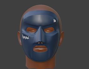 M Huncho mask 3D print model