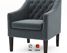 Chair collection 3D asset realtime