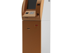 3D ATM Mobile payment terminal