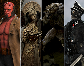 Hellboy collection 3D model