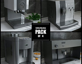 Coffee Machine Collection 1 3D model