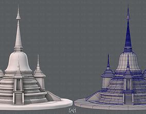3D asset Pagoda V02