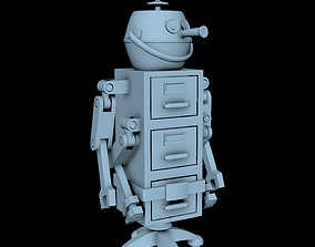 3D print model Mack from the Jetsons