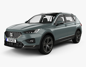 compact Seat Tarraco 2019 3D