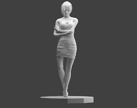 Ada Wong From Resident Evil 2 Remake 3D print