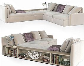 book Dominio sofa by Frigerio Salotti 3D model