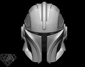 3D print model Mandalorian knight custom helmet