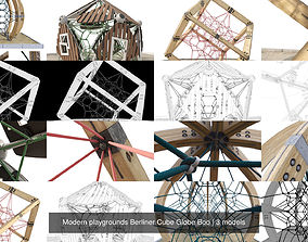 Modern playgrounds Berliner Cube Globe Boo 3D