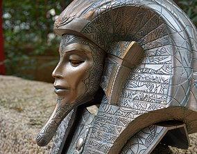 Ra Stargate movie helmet cosplay 3D printable model
